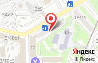 Схема проезда до компании Медиа Статус в Москве