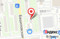 Схема проезда до компании Ландшафтный Дизайн в Москве
