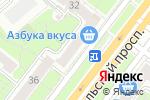 Схема проезда до компании Бриллианты Якутии в Москве