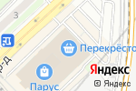 Схема проезда до компании KORA в Москве