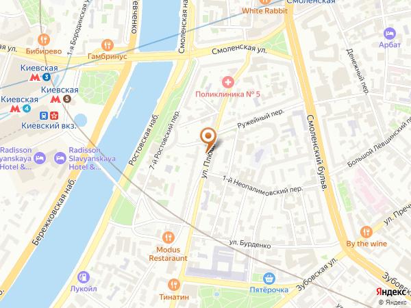 Остановка Ружейный пер. в Москве