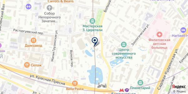 ПТФ ЛОКОС 1 на карте Москве