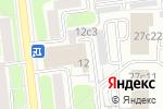 Схема проезда до компании Mail Boxes-Etc в Москве
