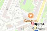 Схема проезда до компании Шати Студио в Москве