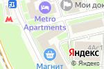 Схема проезда до компании АБАРИС в Москве