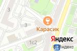 Схема проезда до компании L`aMour Dance в Москве
