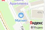 Схема проезда до компании СМГ-Реклама в Москве