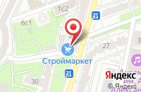 Схема проезда до компании Энергопромстрой в Москве