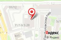 Схема проезда до компании Хельсинг в Москве