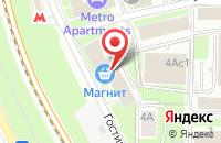 Схема проезда до компании Промпроектстрой в Москве