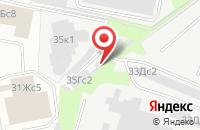 Схема проезда до компании Недра-Тех в Москве