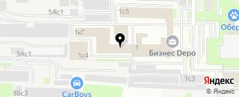 Союз-96 на карте Москвы