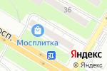 Схема проезда до компании Мосплитка в Москве