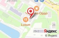 Схема проезда до компании Премьер Строй в Москве