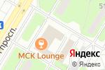 Схема проезда до компании Бригантина в Москве