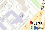 Схема проезда до компании РосЕвроДевелопмент в Москве