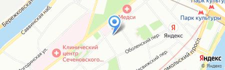 Технопарк Россолимо на карте Москвы