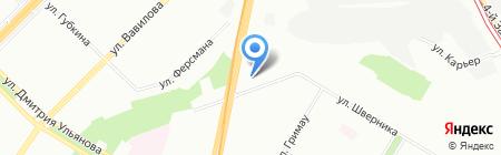 Renommee на карте Москвы