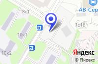 Схема проезда до компании ТФ А-БРИЗ в Москве