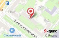 Схема проезда до компании Центр Стратегического Развития в Москве
