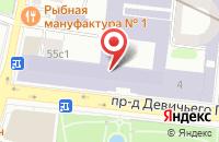 Схема проезда до компании Военно-Патриотическое Содружество «Барс» в Москве