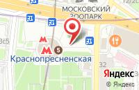 Схема проезда до компании Селена в Москве