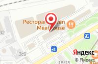 Схема проезда до компании Костон в Москве