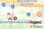 Схема проезда до компании Сим-Сим в Москве
