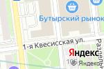 Схема проезда до компании Потолок & Интерьер в Москве