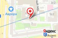 Схема проезда до компании Электрон в Москве