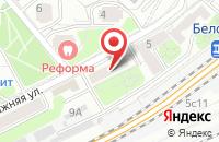 Схема проезда до компании Баттлес в Москве