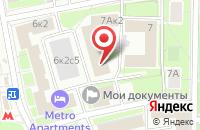 Схема проезда до компании Проект «Тигра» в Москве