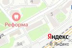 Схема проезда до компании Печатный Элемент в Москве