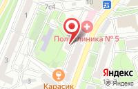 Схема проезда до компании Арт-Стиль в Москве
