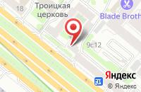 Схема проезда до компании Мион-Пресс в Москве