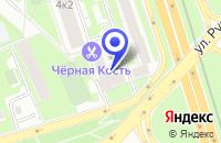 Схема проезда до компании ТФ КОМФОРТ КХК в Москве