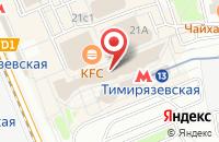 Схема проезда до компании Бамсан в Москве