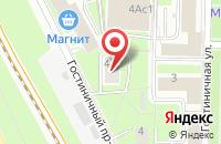 Схема проезда до компании Навна Тиэй в Москве