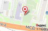 Схема проезда до компании МастерСтрой в Москве