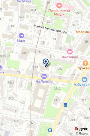 ИНФОРМАЦИОННО-РЕКЛАМНОЕ АГЕНТСТВО ИНРЕСФОНД на карте Москвы