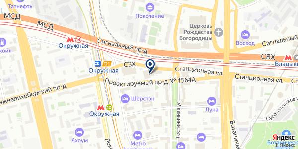 ПТК ТЕХИНЖИНИРИНГСЕРВИС на карте Москве