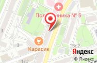Схема проезда до компании Автогород в Москве