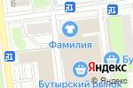 Схема проезда до компании Сити-Багет в Москве