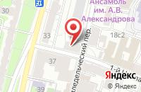 Схема проезда до компании Маск Рус в Москве