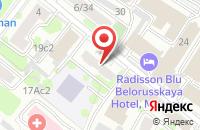Схема проезда до компании МонтажСпецСтрой в Москве
