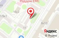 Схема проезда до компании Журнал Октябрь в Москве