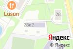 Схема проезда до компании Средняя общеобразовательная школа №1280 с углубленным изучением английского языка в Москве