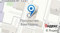 Компания Посольство Народной Республики Бангладеш в г. Москве на карте