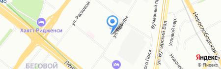 АртБригада на карте Москвы