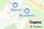 Схема проезда до компании Торговый ряд на Каховке в Москве